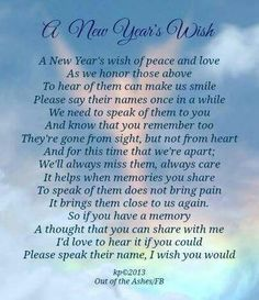 New Year's Wish.  I love to hear and comforted by Jack stories.   Everyone that ever met him has one. Miss You Mum, Missing My Son, Grief Loss, Child Loss, Quotes About New Year, Year Quotes, Life Quotes, New Year Wishes, New Beginnings