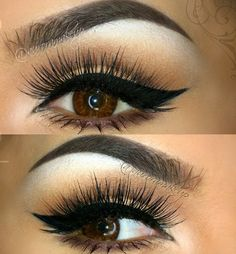 Brows, lashes cateye!!! #perfect