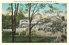 Rides and Danceland, Sea Breeze Park, Rochester, NY by Flour City Post .com, via Flickr