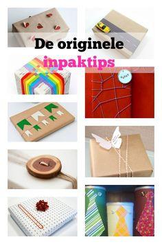 DIY idea: De origineelste inpaktips voor het inpakken van een cadeautje voor volwassenen kinderen voor Sinterklaas, christmas, zomaar of een swap - Mamaliefde.nl