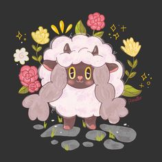Pomello ~ happily handmade (@bypomello) • #wooloo #pokemon #pokemonswordshield Pokemon Alola, Pokemon Party, Pokemon Memes, Pokemon Funny, Cool Pokemon, Cute Characters, Disney Characters, Cute Sheep, Fire Emblem