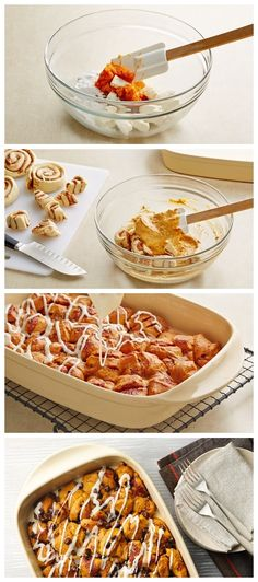 Pumpkin Pie Bubble-Up Bake