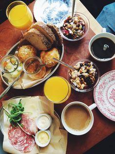 lovely breakfast at Pom & Flora, Stockholm.