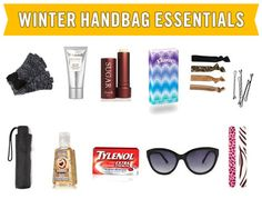 10 Things to Carry in Your Purse this Winter