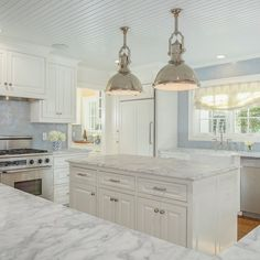 Style Profile: Amy Berry - The Glam Pad White Cabinets, Kitchen Cabinets, Luxury Nursery, White Lounge, Happy Kitchen, Country Kitchen, Wicker Furniture, Distressed Furniture, Kitchen Furniture