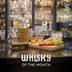 Whisky of the month for February 2017; The Balvenie 14 YO Caribbean cask.  A Speyside single malt whisky.