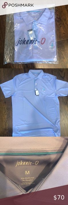 Men/'s Solid Navy Blue The Original 4-Button Pocket SS Polo sz S NWT Johnnie O