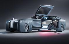Rolls Royce apresenta primeiro carro de luxo sem condutor - Inovação e Processos - CIMM