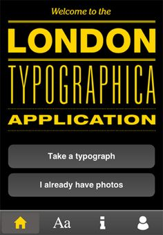 Silver Award for London Typographica by OPX Best Apps, Design Awards, Itunes, Mobile App, Map, London, Silver, Location Map, Mobile Applications