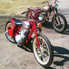 Jawa bobbers  Photo courtesy of @markkula.juha595  More photos on - http://ift.tt/1MOOLiU (Link in Profile) | #jawa | #jawamotorcycles.com | #idealjawa| #2stroke | #chrome | #Cz | #biker | #motorcycles | #imtheindianbiker | #yezdi | #yjoci | #retro | #czech | #vintage | #vintagestyle |#india | #motorbike | #caferacer | #bikeporn | #instamotogallery | #dirt | #bike | #picoftheday | #gopro | #motocross | #motorcycleyard |