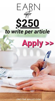 Make extra money from home, writing in your free time. Here are some websites that are accepting to pay you to write without experience. Work at home jobs Work From Home Opportunities, Work From Home Tips, Business Opportunities, Business Ideas, Make Money Fast, Make Money From Home, Make Money Online, Fast Cash, Write Online