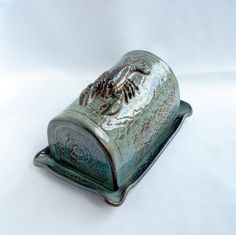 Butter dish Lobster trap with lobster Made to order by WisperOn