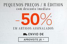 Amostras e Passatempos: Promo Pequenos Preços / R édition by La Redoute