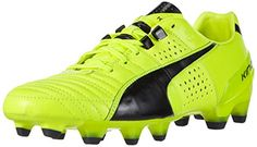Puma King II FG, Herren Fußballschuhe, Gelb (safety yellow-black 06), 48.5 EU (13 Herren UK) - http://on-line-kaufen.de/puma/48-5-eu-puma-king-ii-fg-herren-fussballschuhe-3