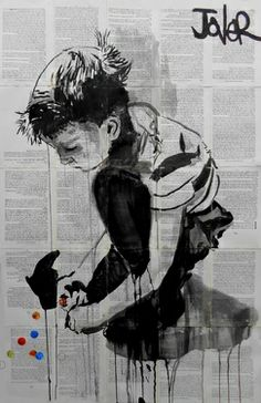 "Saatchi Art Artist Loui Jover; Drawing, ""moments never replaced"" #art"