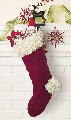 crocheted christmas stockings ebook - Crochet Christmas Stockings