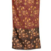 Fall Kalamkari Scarf - Fair trade is a trading partnership, based on dialogue, transparency, & respect, that seeks greater equity in international trade. It contributes to sustainable development by offering better trading conditions to, and securing the rights of, marginalized producers & workers. Fair trade organizations are engaged actively in supporting producers, awareness raising & in campaigning for changes in the rules & practice of conventional international trade.