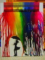 Colored Rain vibrante por abbyc101