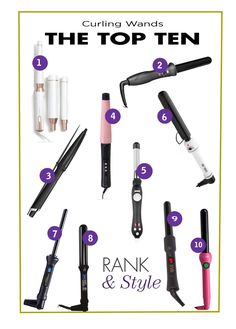 The Ten Best Curling Wands // Shop the best here!