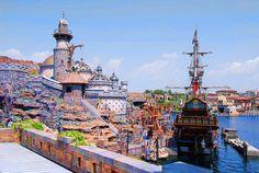 Another pinner said: Tokyo DisneySea, Tokyo, Japan Disney Map, Disney Trips, Disney Parks, Tokyo Travel, Asia Travel, Tokyo Disneysea, Sea Dream, Virgo Sign, Mermaid Lagoon