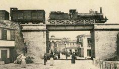 Comboio em Monção - Portugal  Train in Monção - Portugal