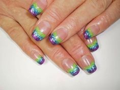 unique french manicure nail art designs | Unique Nail Art Design Ideas For 2014