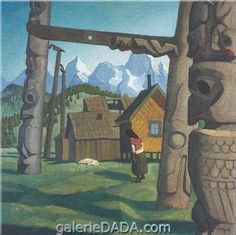 El Santo - Hartley, Marsden (American, 1877 - Fine Art Reproductions, Oil Painting Reproductions - Art for Sale at Galerie Dada Group Of Seven Artists, Oil Painting Reproductions, Book Illustration, Art For Sale, Beams, Totem Poles, Fine Art, Image, Paintings