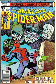 browsethestacks:  Vintage Comic - Amazing Spider-Man #181