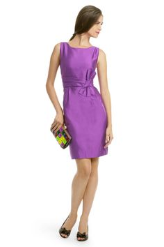 kate spade new york Mademoiselle Dress - This deep purple kate spade new york dress will help you stand out against any competition! Just remember - neutral accessories!