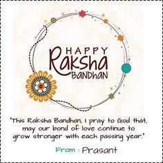 Happy Raksha Bandhan Rakhi 2019 Greeting cards with name