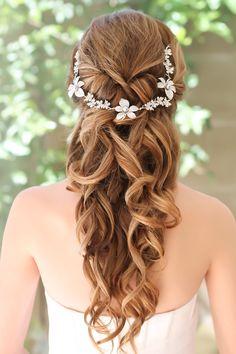 ANDREE Headpiece #weddinghairstyles