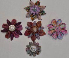 Kanzashi - how to fold petals and more! - Joggles.com