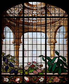 Henry G. Marquand House Conservatory Stained Glass Window - Stained glass - Wikipedia, the free encyclopedia