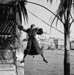 GALLERY: 1950s and 60s models atop pillars, dangling over canals and in gondolas