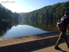 hiking | Brown County State Park | Brown County, IN | George Guest Hillside backpack