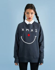Lazy Oaf Xmas Nose Sweatshirt