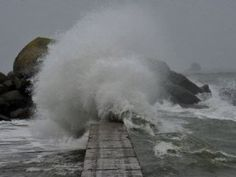 Photo archives Claude Prigent. The Brittany coast, 23 April, 2012.