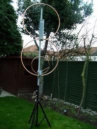 Cliquez pour agrandir l'image Ham Radio Antenna, All Band, Radio Activity, Projects To Try, Ceiling Lights, Squat, Om, Image, Souvenir