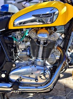 Very tasty 1970 Ducati 450cc Scrambler.