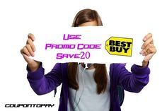 New Coupons for you to Save 20% with our #Promocode at #bestbuy!