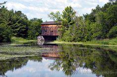Shoreham, Vermont, Covered Bridge