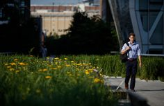 High Line's Best-Kept Secret - It's a Fast Commute - NYTimes.com ~ and these quick steppers keep it feeling perfectly New York!