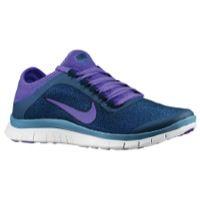 Nike Free 3.0 V5 Ext - Women's - Blue / Purple