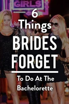 6 Things Brides Forget To Do At Their Bachelorette. Planning A Bachelorette Party Checklist Hotel Bachelorette Party, Bachelorette Party Checklist, Bachelorette Party Activities, Bachelorette Party Planning, Bachelorette Party Shirts, Bachelorette Weekend, Bachlorette Party, Unique Bachelorette Party Ideas, Bash