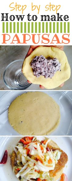 Today I am going to share with you a delicious family recipe that might be a little different from the traditional pupusa , but still very much an El Salvadorian pupusa. I will also throw in some helpful tips and tricks on how to make your pupusa making a Mexican Dishes, Mexican Food Recipes, Ethnic Recipes, Masa Recipes, Honduran Recipes, Recipes With Masa Flour, Recipes Dinner, Papusa Recipe, El Salvador Food