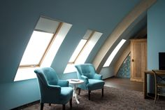 suggestioni nell'#architettura del Gasterij De Roode Schuur Hotel grazie al sistema di #finestre FAKRO  www.fakro.it