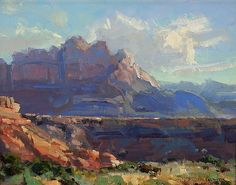 View From High Road by Kathryn Stats - Greenhouse Gallery of Fine Art