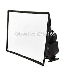 BuyerKit(TM) 19x23cm Portable Flash Softbox Diffuser SpeedLight For Camera DC332 * Find out more about the great product at the image link.