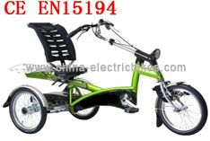 http://www.china-electricbikes.com/key-tandem-adult-tricycle-35/ With the batteries mounted under the seat the Tandem Electric Tricycle is one of the safest and most stable riding tricycles.-Tandem Electric Trike