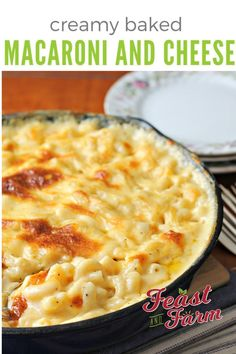 Creamy savory and easy to make baked macaroni and cheese lets you skip the blue box and do it homemade in under 30 minutes. Creamy savory and easy to make baked macaroni and cheese lets you skip the blue box and do it homemade in under 30 minutes. Baked Mac And Cheese Recipe, Cheesy Mac And Cheese, Macaroni Cheese Recipes, Boxed Mac And Cheese, Mac And Cheese Homemade, Pasta Recipes, Creamy Macaroni And Cheese, Mac N Cheese Bake, French Tips